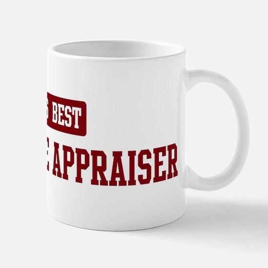 Worlds best Real Estate Appra Mug