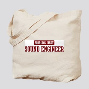 Worlds best Sound Engineer Tote Bag