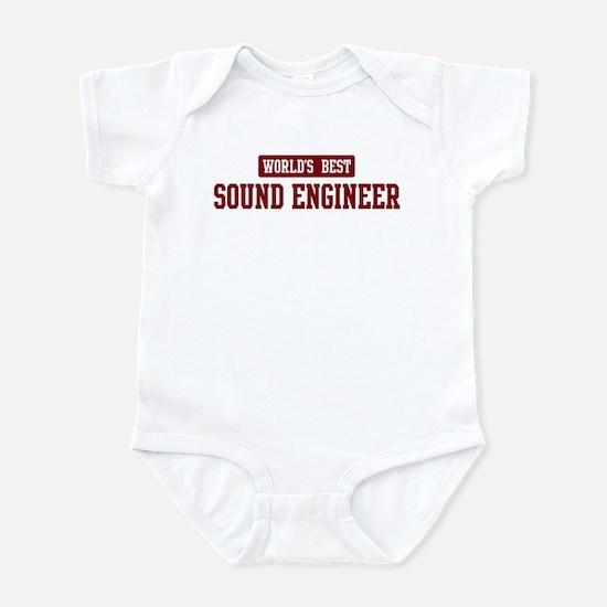 Worlds best Sound Engineer Infant Bodysuit