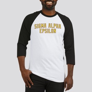 Sigma Alpha Epsilon Gold Baseball Jersey