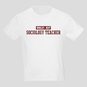 Worlds best Sociology Teacher Kids Light T-Shirt