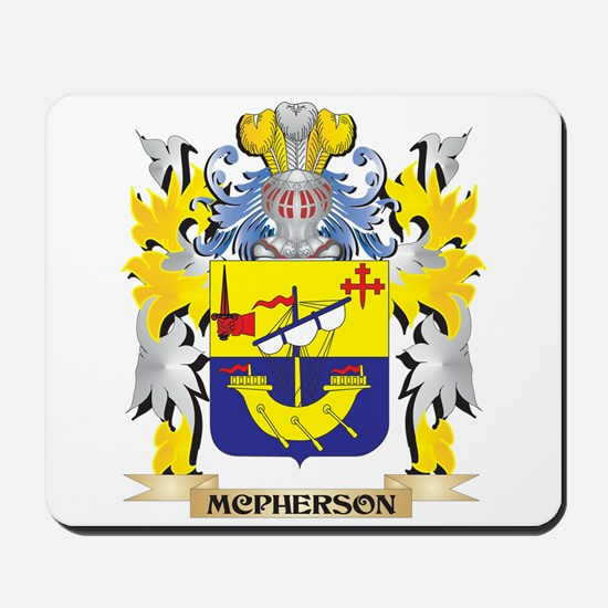 Mcpherson Coat of Arms - Family Crest Mousepad