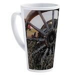 Wagon Wheels 17 oz Latte Mug