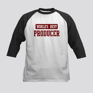 Worlds best Producer Kids Baseball Jersey