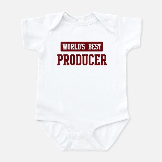 Worlds best Producer Infant Bodysuit