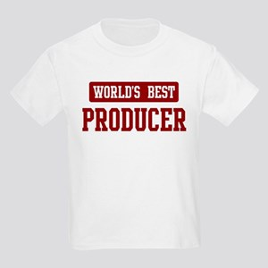 Worlds best Producer Kids Light T-Shirt