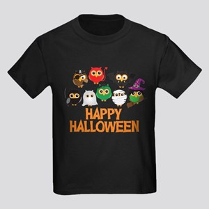Halloween Owls in Costume T-Shirt