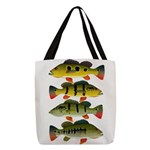 4 Peacock Bass Polyester Tote Bag