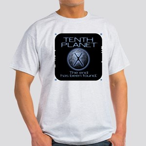 "Tenth Planet ""end found"" Ash Grey T-Shirt"
