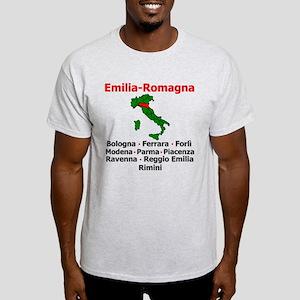 Emilia Romagna Ash Grey T-Shirt