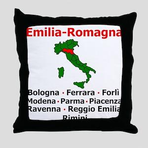 Emilia Romagna Throw Pillow