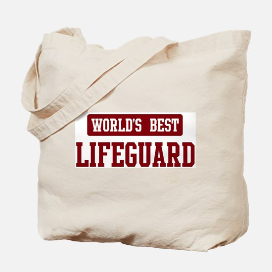 Worlds best Lifeguard Tote Bag