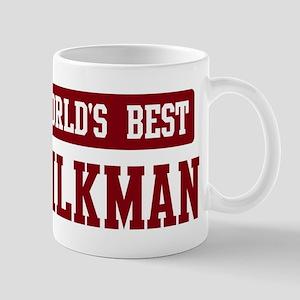 Worlds best Milkman Mug