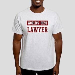 Worlds best Lawyer Light T-Shirt