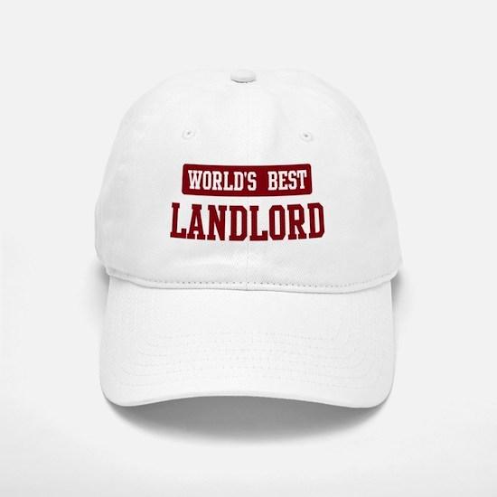 Worlds best Landlord Baseball Baseball Cap