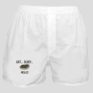 Eat ... Sleep ... MOLES Boxer Shorts