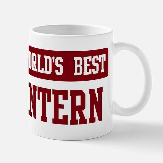 Worlds best Intern Mug