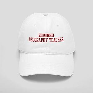 Worlds best Geography Teacher Cap