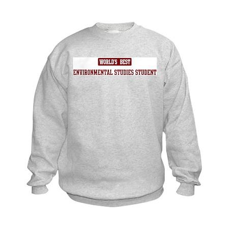 Worlds best Environmental Stu Kids Sweatshirt