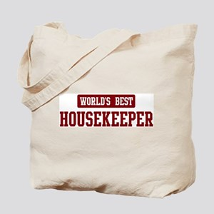 Worlds best Housekeeper Tote Bag