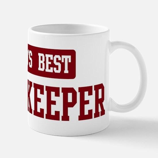 Worlds best Housekeeper Mug