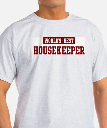 Worlds best Housekeeper T-Shirt
