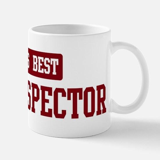 Worlds best Home Inspector Mug