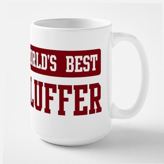 Worlds best Fluffer Large Mug