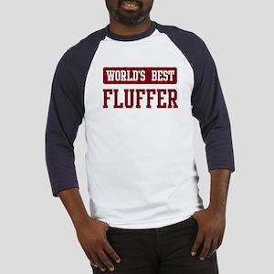 Worlds best Fluffer Baseball Jersey