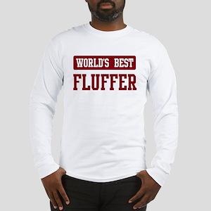 Worlds best Fluffer Long Sleeve T-Shirt