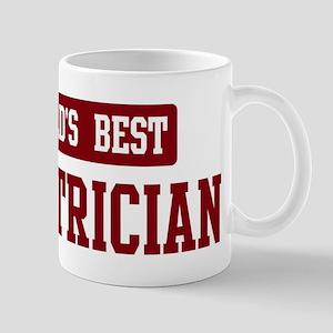 Worlds best Electrician Mug