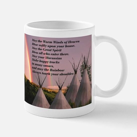 Cherokee Blessing Prayer Mug