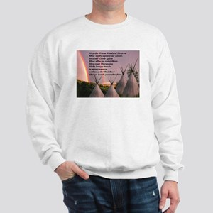 Cherokee Blessing Prayer Sweatshirt