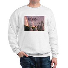 Cherokee Blessing Prayer Sweatshirt