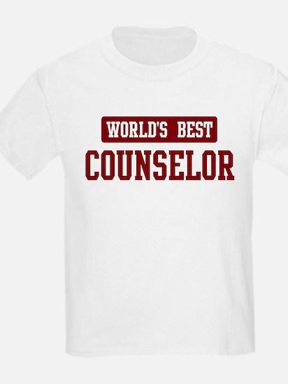 Worlds best Counselor T-Shirt