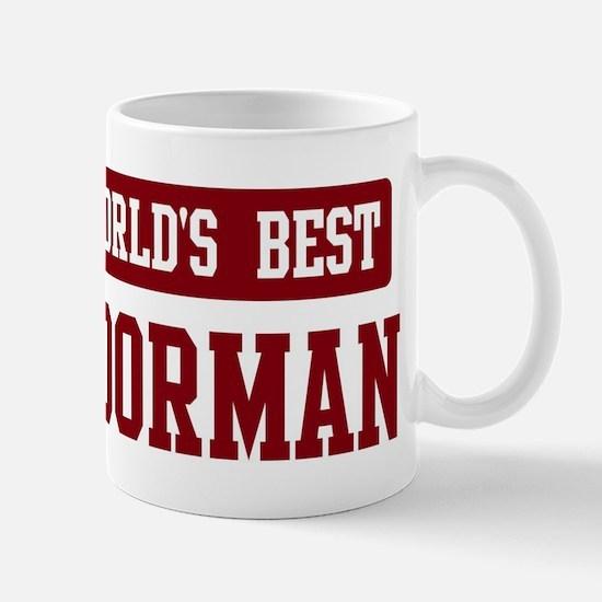 Worlds best Doorman Mug
