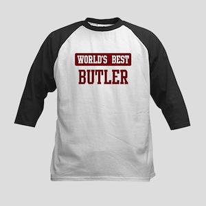 Worlds best Butler Kids Baseball Jersey