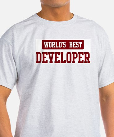 Worlds best Developer T-Shirt
