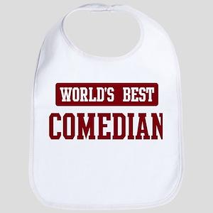 Worlds best Comedian Bib