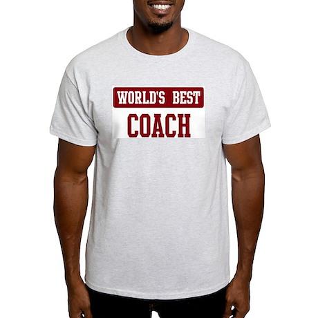 Worlds best Coach Light T-Shirt