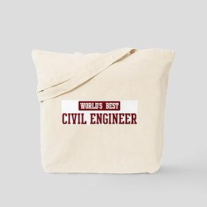 Worlds best Civil Engineer Tote Bag
