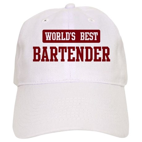 Worlds best Bartender Cap