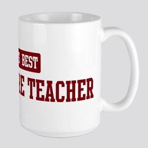 Worlds best Agriculture Teach Large Mug