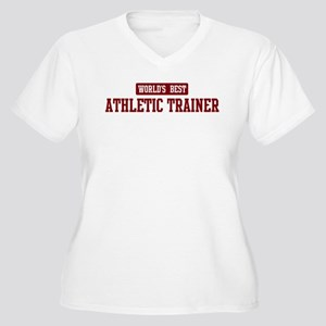 Worlds best Athletic Trainer Women's Plus Size V-N