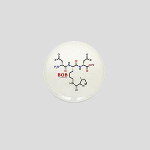 Bob name molecule Mini Button