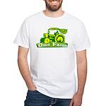 Dirt Farm Tractor White T-Shirt