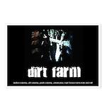 Dirt Farm Guitar/Flag Postcards (Package of 8)
