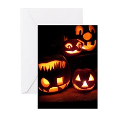 Halloween Tricks and Treats Greeting Cards (Pk of