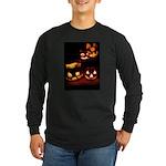 Halloween Tricks and Treats Long Sleeve Dark T-Shi