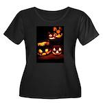 Halloween Tricks and Treats Women's Plus Size Scoo